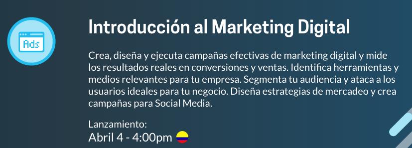 Curso Platzi Marketing Digital