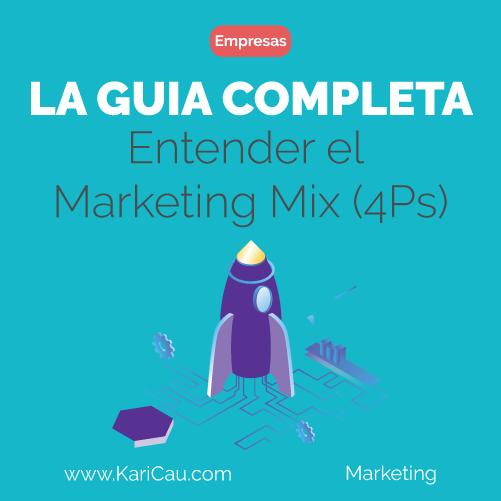 Portada de la Guía para entender el Marketing Mix